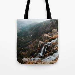 Autumn falls - Landscape and Nature Photography Tote Bag
