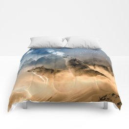 Moonrise Howl Comforters