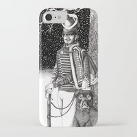 soldier iPhone & iPod Cases featuring Soldier by Thom Deer