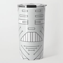 Robot technology #society6 #decor #buyart #artprint Travel Mug