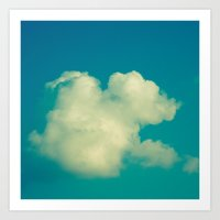 cloud Art Prints featuring Cloud by Jean-François Dupuis