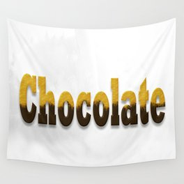 chocolate Wall Tapestry