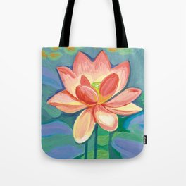 Sacred Lotus Tote Bag