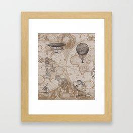Gears of Flight Framed Art Print
