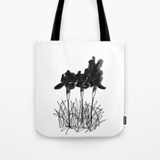 Dark Iris Tote Bag
