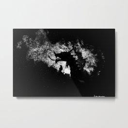 When Dragons Rain Fire Metal Print