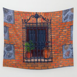 Toledo window Wall Tapestry