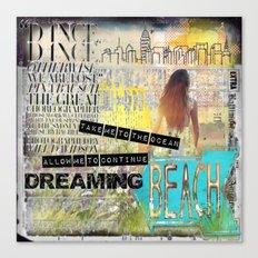 Continue Dreaming Canvas Print