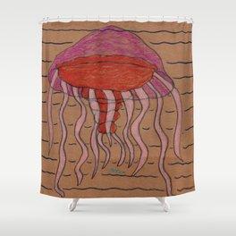 Lion's Mane Jelly Shower Curtain