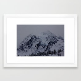 Glacial Blue Framed Art Print