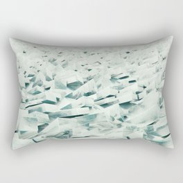 Frozen Shore Rectangular Pillow