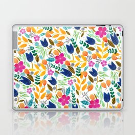 Flower Mayhem Laptop & iPad Skin