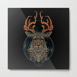 Oh Deer - Metal Print