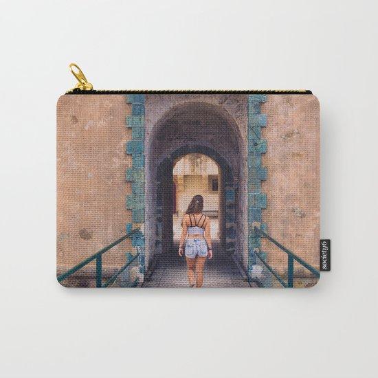 Saint Tropez Castle Carry-All Pouch