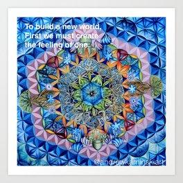 Sacred Geometry - Andrew Kaminski Art Print Art Print