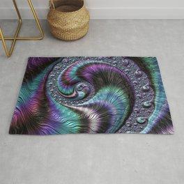 Fractal Art-Abalone Rug
