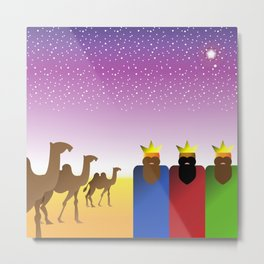Three Kings Night #1 Metal Print