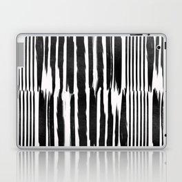 White Lines Laptop & iPad Skin