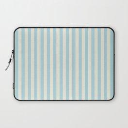 Blue Plume Glass Green Stripe Laptop Sleeve