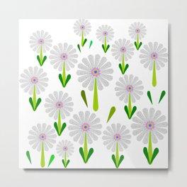 zappwaits flower Metal Print