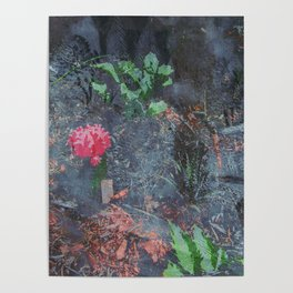 Charcoal Nature Poster