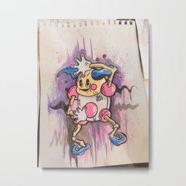 MR. Mime  Metal Print