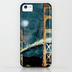 Golden Gate Bridge at Night iPhone 5c Slim Case