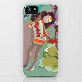 Maria de las Flores iPhone Case