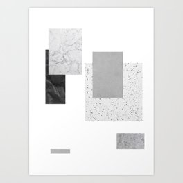 Separated Art Print