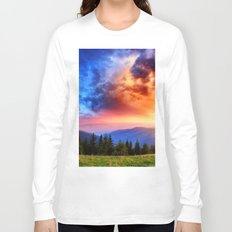 Rainbow Sky Long Sleeve T-shirt