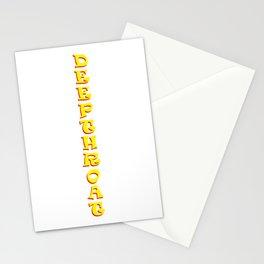 Deepthroat 1 Stationery Cards