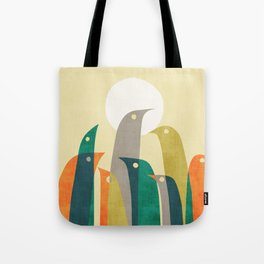 Wild birds at the beach Tote Bag