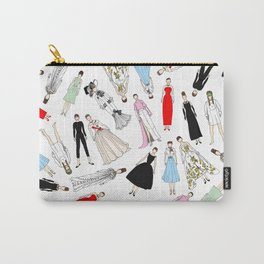 Audrey Hepburn Fashion (Scattered) Carry-All Pouch