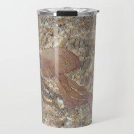Pink Jellyfish Travel Mug