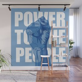 Power to the People Wall Mural