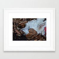 westie Framed Art Prints featuring Hiding westie by  Alexia Miles photography