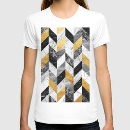 Marble Pattern T-shirt