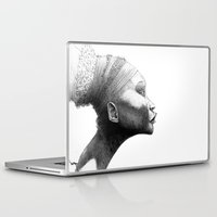 afro Laptop & iPad Skins featuring Afro by Vito Quintans