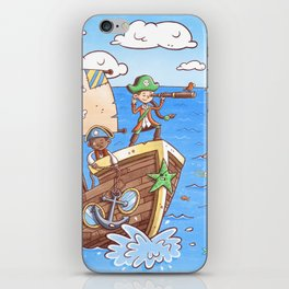 Even Pirates Need to Listen iPhone Skin