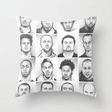 i am a man Throw Pillow