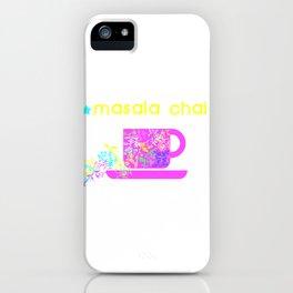MASALA CHAI iPhone Case