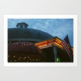 Roundhouse Art Print