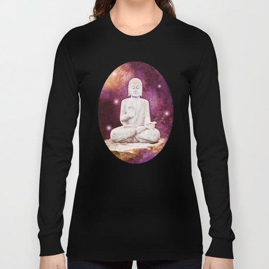 BUDDHA | Red Lights Long Sleeve T-shirt