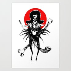 The Pirate Dog Art Print