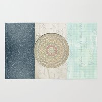 washington Area & Throw Rugs featuring Washington D.C. by Tuky Waingan