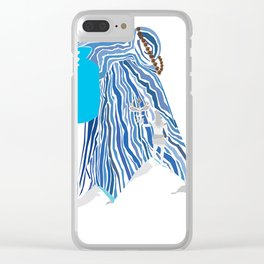 Shiva e Destroyer Clear iPhone Case