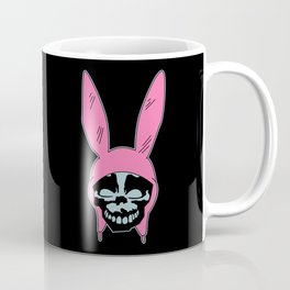 Grey Rabbit/Pink Ears Coffee Mug