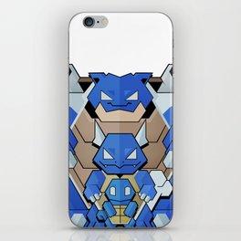 Blue Starter iPhone Skin