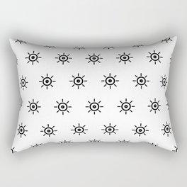 I Spy with my Alien Eye Rectangular Pillow
