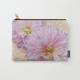 Pink Dahilas Carry-All Pouch